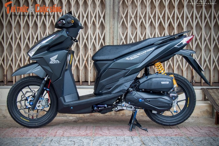 "Honda Vario 150 len do choi ""cuc chat"" tai Viet Nam"