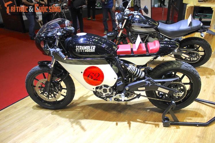 """Tho Sai Gon bien Ducati Scrambler Sixty2 thanh """"thuoc doc""""-Hinh-2"""