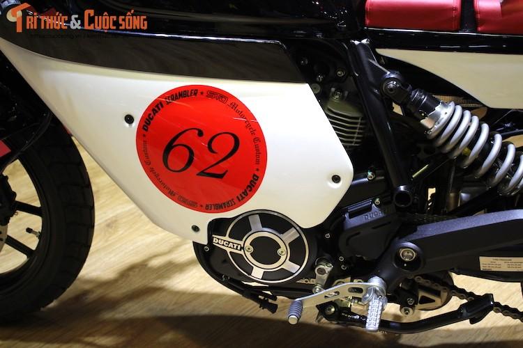 """Tho Sai Gon bien Ducati Scrambler Sixty2 thanh """"thuoc doc""""-Hinh-6"""