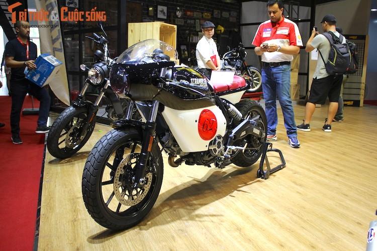 """Tho Sai Gon bien Ducati Scrambler Sixty2 thanh """"thuoc doc"""""""