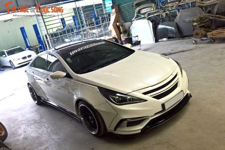 "Tho Viet do Hyundai Sonata nhu sieu xe the thao ""khung""-Hinh-2"
