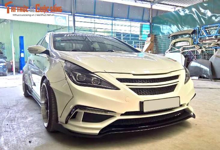 "Tho Viet do Hyundai Sonata nhu sieu xe the thao ""khung""-Hinh-3"