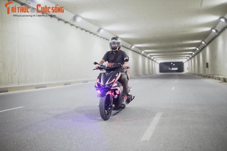 """Can canh Yamaha NVX 155 do """"sieu chat"""" tai Viet Nam-Hinh-8"""