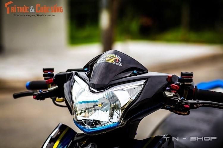 """Yamaha Exciter 135 """"do kieng"""" cuc dep tai Viet Nam-Hinh-2"""
