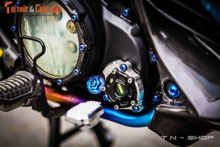 """Yamaha Exciter 135 """"do kieng"""" cuc dep tai Viet Nam-Hinh-6"""