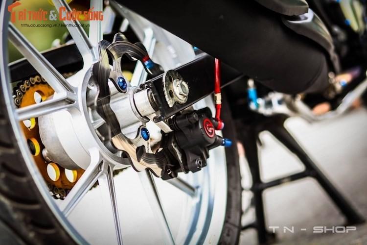 """Yamaha Exciter 135 """"do kieng"""" cuc dep tai Viet Nam-Hinh-8"""