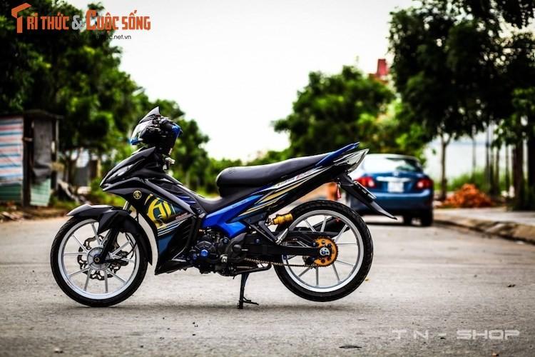 """Yamaha Exciter 135 """"do kieng"""" cuc dep tai Viet Nam"""