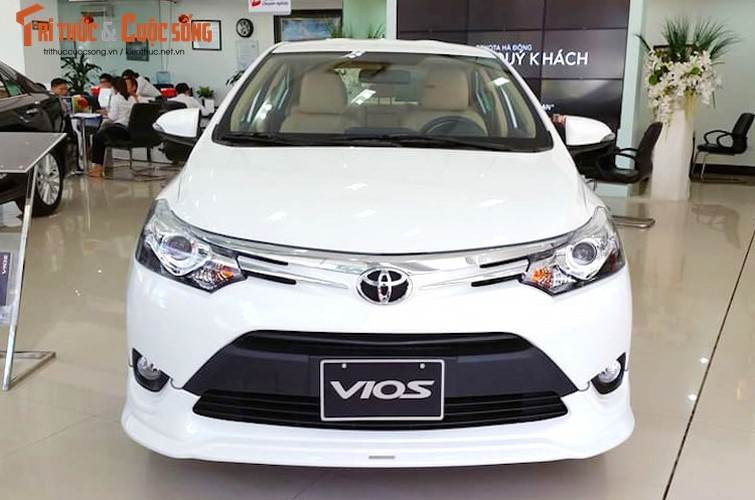 Can canh Toyota Vios TRD 2017 gia 644 trieu tai VN