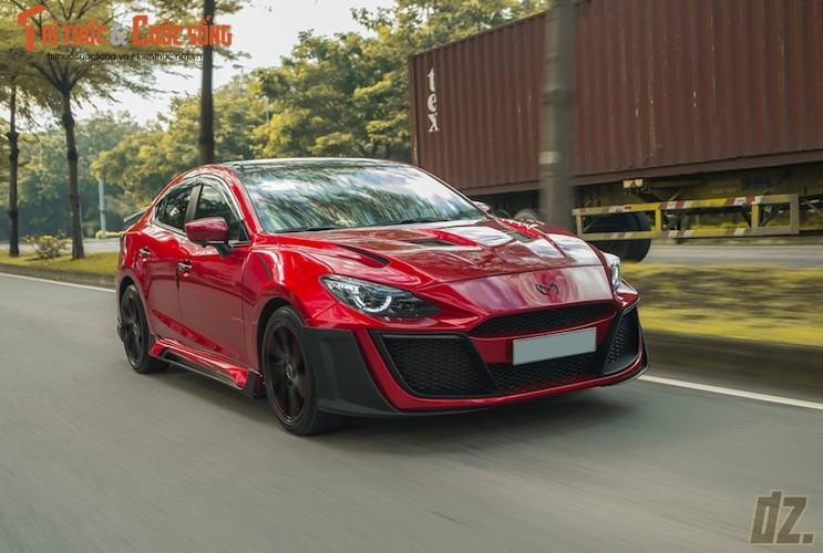"Mazda3 sieu chat voi bodykit ""made in Vietnam"" gia 60 trieu"