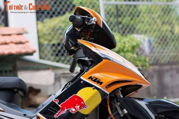 "Yamaha Exciter 135 do ""noi cong khung"" phong cach KTM-Hinh-6"