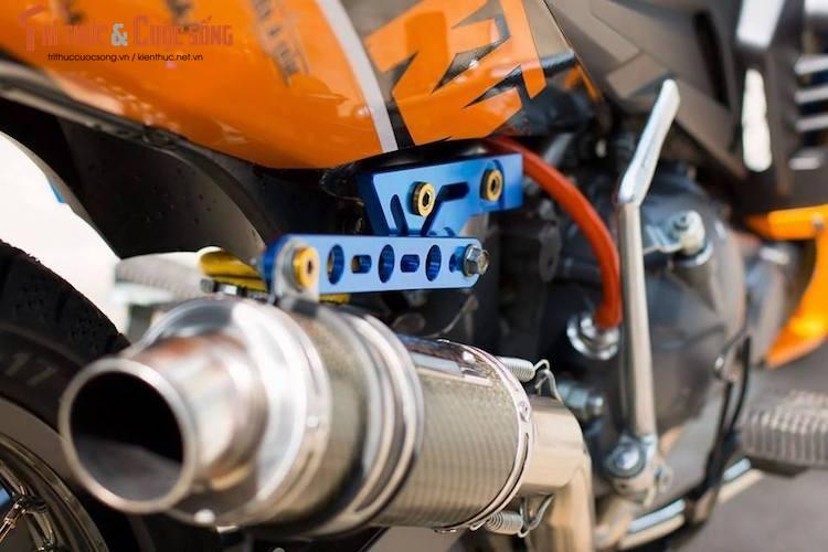 "Yamaha Exciter 135 do ""noi cong khung"" phong cach KTM-Hinh-8"
