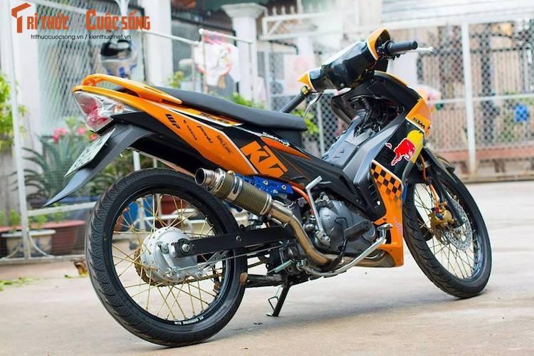 "Yamaha Exciter 135 do ""noi cong khung"" phong cach KTM-Hinh-9"