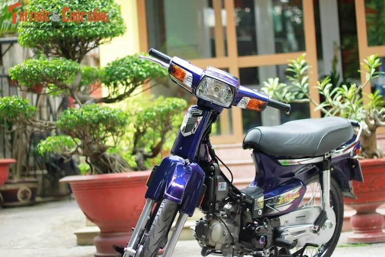 "Xem dan choi Sai Gon do ""kieng"" Honda Super Dream"