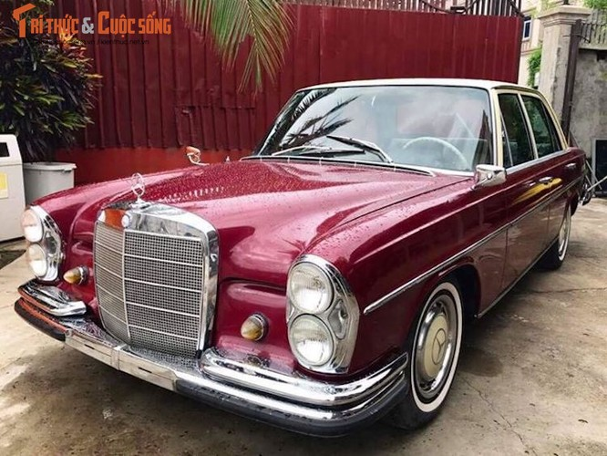 "Xe co Mercedes S-Class 1963 ""thet gia"" 1,1 ty tai VN"