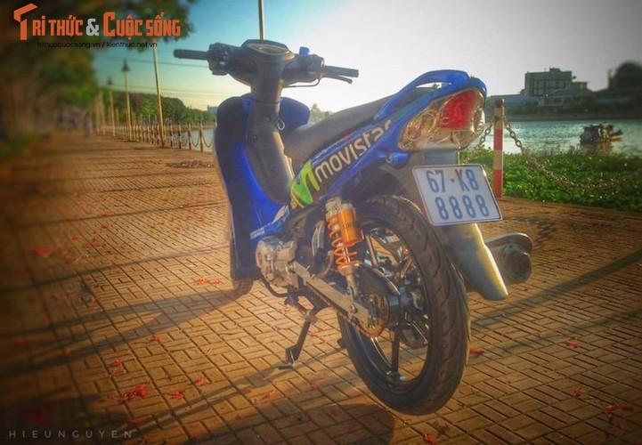 """Yamaha Jupiter bien """"ngu quy 8"""" do khung tai An Giang-Hinh-8"""