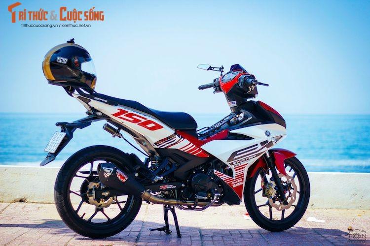 "Yamaha Exciter 150 ""bien khung, do chat"" tai Vung Tau-Hinh-2"
