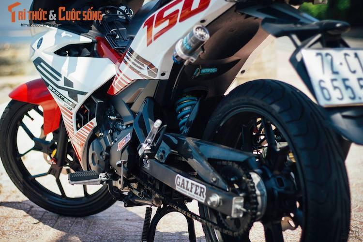 "Yamaha Exciter 150 ""bien khung, do chat"" tai Vung Tau-Hinh-6"