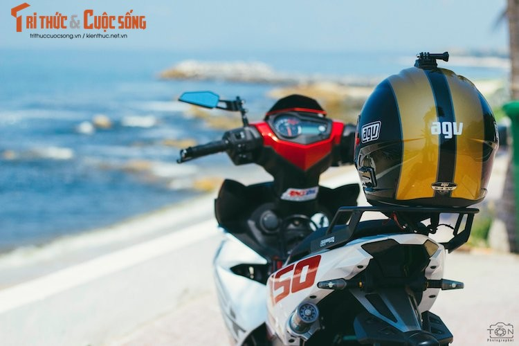 "Yamaha Exciter 150 ""bien khung, do chat"" tai Vung Tau-Hinh-7"