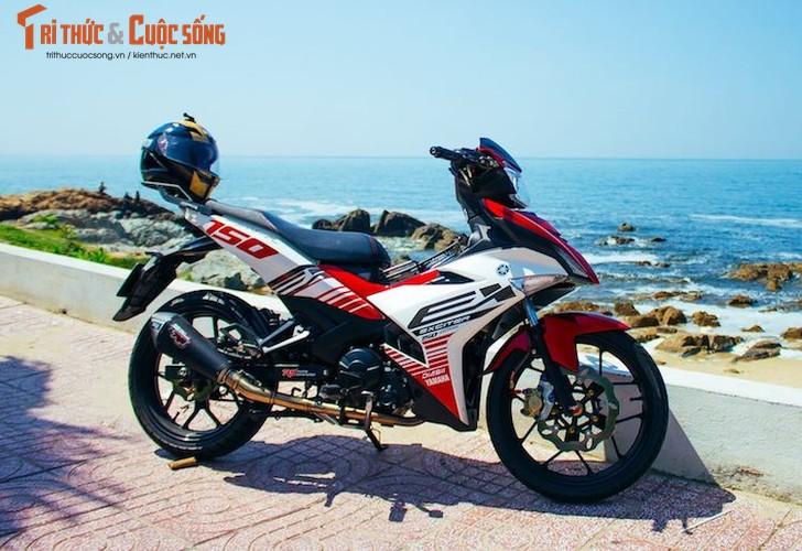 "Yamaha Exciter 150 ""bien khung, do chat"" tai Vung Tau"