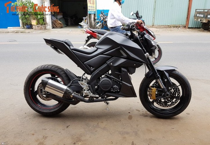 "Tho Viet do ""xe coi"" Yamaha TFX150 phong cach moto PKL-Hinh-2"
