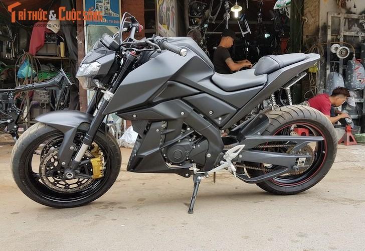 "Tho Viet do ""xe coi"" Yamaha TFX150 phong cach moto PKL-Hinh-6"