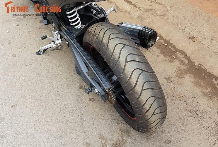 "Tho Viet do ""xe coi"" Yamaha TFX150 phong cach moto PKL-Hinh-7"