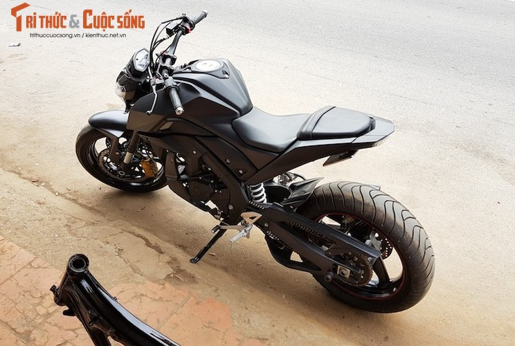"Tho Viet do ""xe coi"" Yamaha TFX150 phong cach moto PKL-Hinh-8"