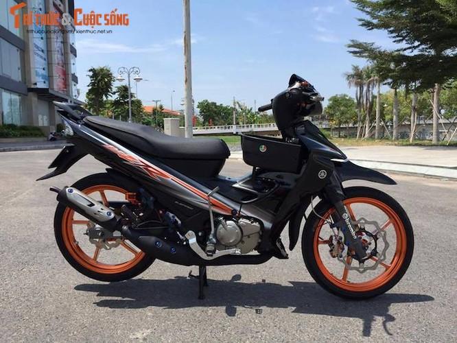 """Dan choi Viet chi hang chuc trieu do """"xe no"""" Yamaha 125ZR"""