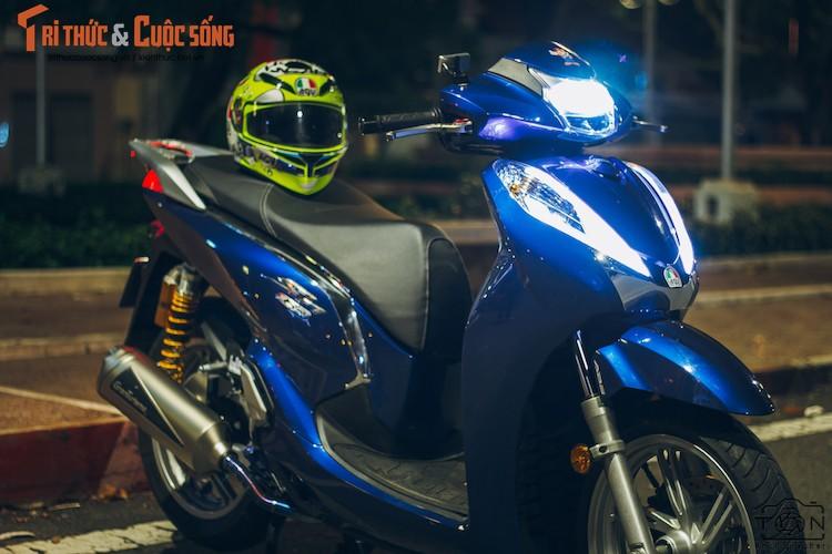 Xe ga Honda SH300i gia 248 trieu do khung tai Sai Gon-Hinh-2
