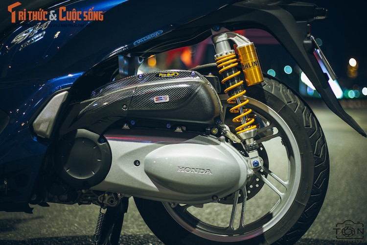 Xe ga Honda SH300i gia 248 trieu do khung tai Sai Gon-Hinh-5