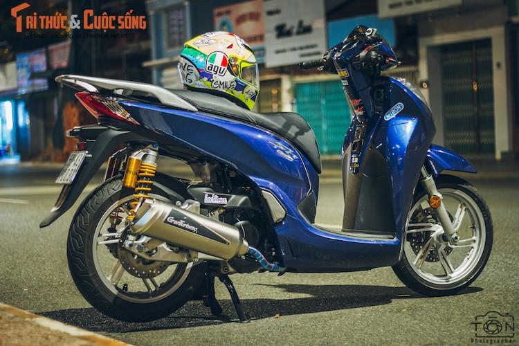 Xe ga Honda SH300i gia 248 trieu do khung tai Sai Gon-Hinh-7