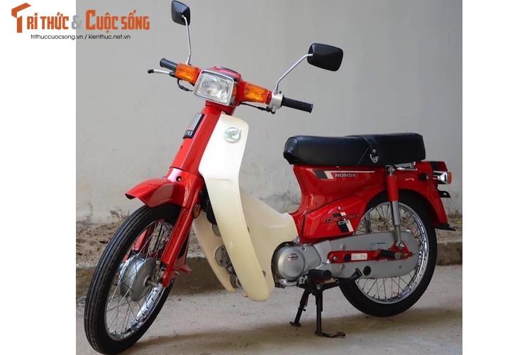 """Honda DD do """"dap thung"""" gia tram trieu tai Sai Gon"""