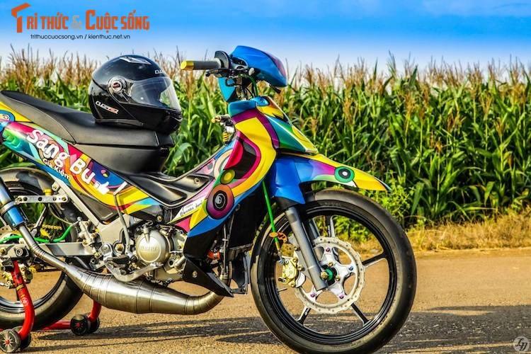 """""""Ca map"""" Yamaha Z125 do xe dau, son airbrush tai VN-Hinh-3"""