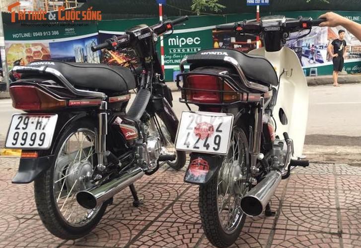 "Xe may Honda Dream II bien ""khung"" gia 200 trieu tai Ha Noi-Hinh-12"