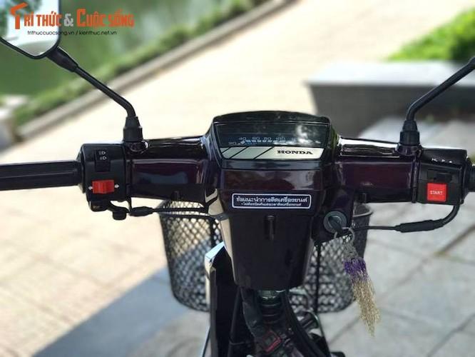 "Xe may Honda Dream II bien ""khung"" gia 200 trieu tai Ha Noi-Hinh-5"