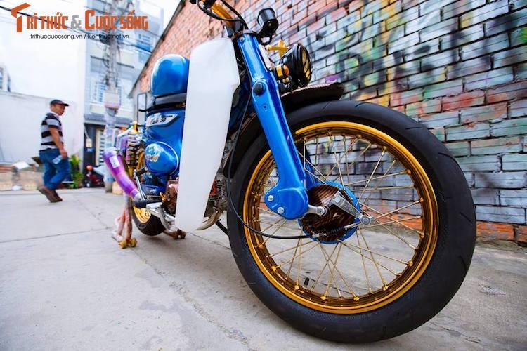 """Honda Cub do """"sieu doc"""" chi 35 trieu tai Sai Gon"""