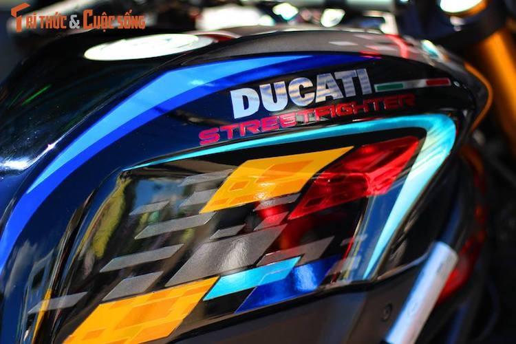 """Dan choi Viet do kieng moto Ducati Streetfighter """"sieu chat""""-Hinh-2"""