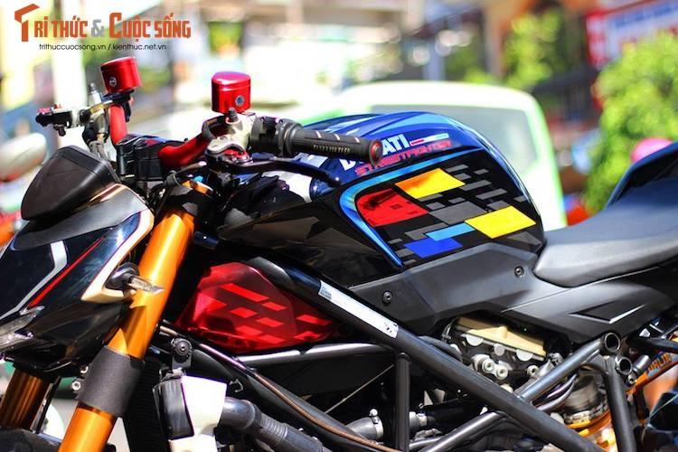 """Dan choi Viet do kieng moto Ducati Streetfighter """"sieu chat""""-Hinh-4"""