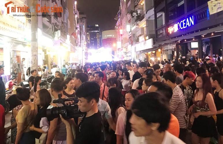 Anh: Hoanh trang le khai truong pho di bo Bui Vien-Hinh-10