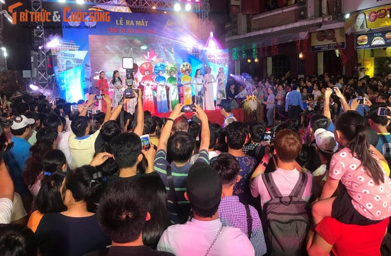 Anh: Hoanh trang le khai truong pho di bo Bui Vien-Hinh-3
