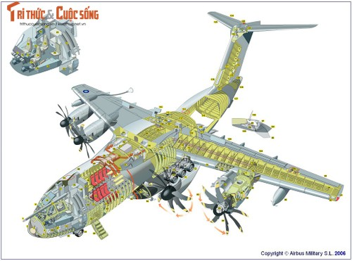 "A-400M: Bien the quan su cua sieu chuyen co ""A-380""-Hinh-2"