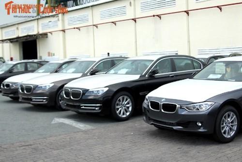 """Tap doan BMW """"xot ruot"""" voi 600 xe sang phoi nang tai VN"""