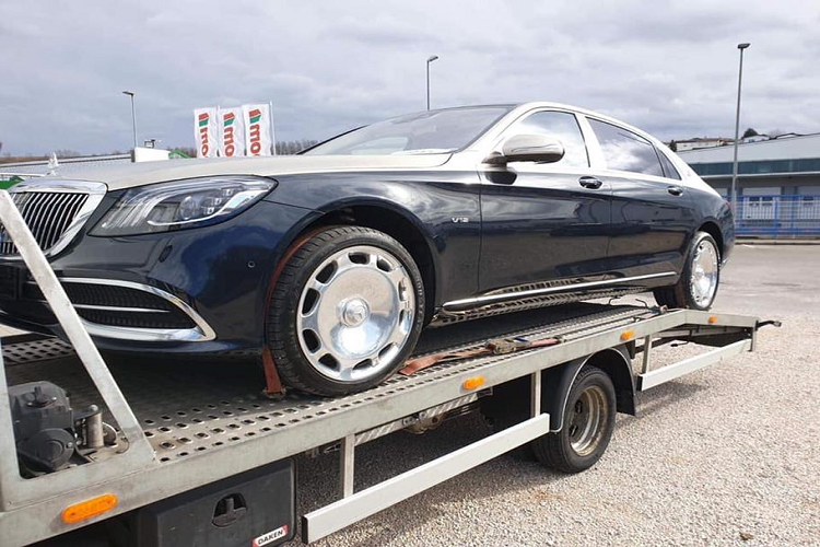 Mercedes-Maybach S650 mau doc, tien ty sap ve Viet Nam-Hinh-4